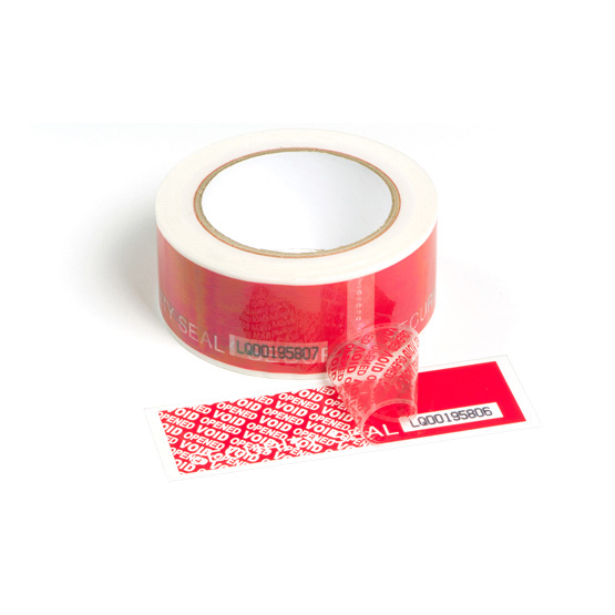 SECURITY TAPE with numbering and perforation